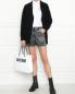 Рубашка из хлопка с принтом Love Moschino  –  МодельОбщийВид