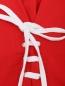 Платье хлопковое, с декоративной шнуровкой Love Moschino  –  Деталь