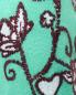 Джемпер из смешанной шерсти свободного кроя с вышивкой Max&Co  –  Деталь