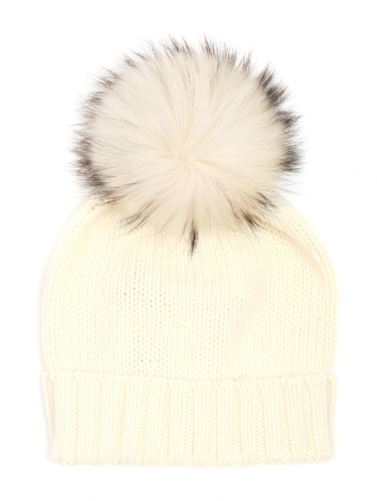 Шапка из кашемира с помпоном Inverni  –  Общий вид