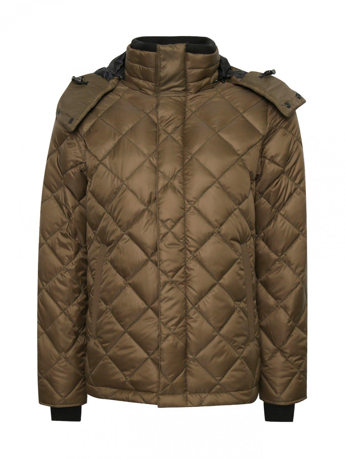 Куртка стеганая с капюшоном Canada Goose  –  Общий вид