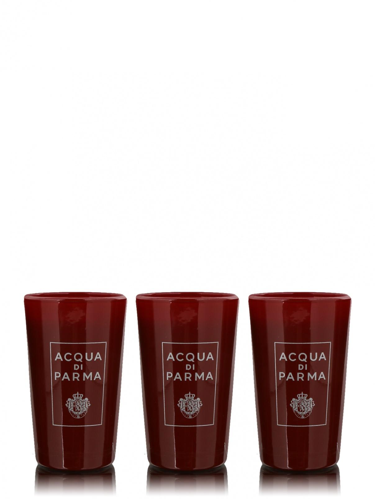 Набор свечей в стекле 3х65 г Xmas '17 Home Fragrance Acqua di Parma  –  Общий вид