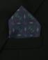 Платок из шелка с узором Eton  –  МодельОбщийВид