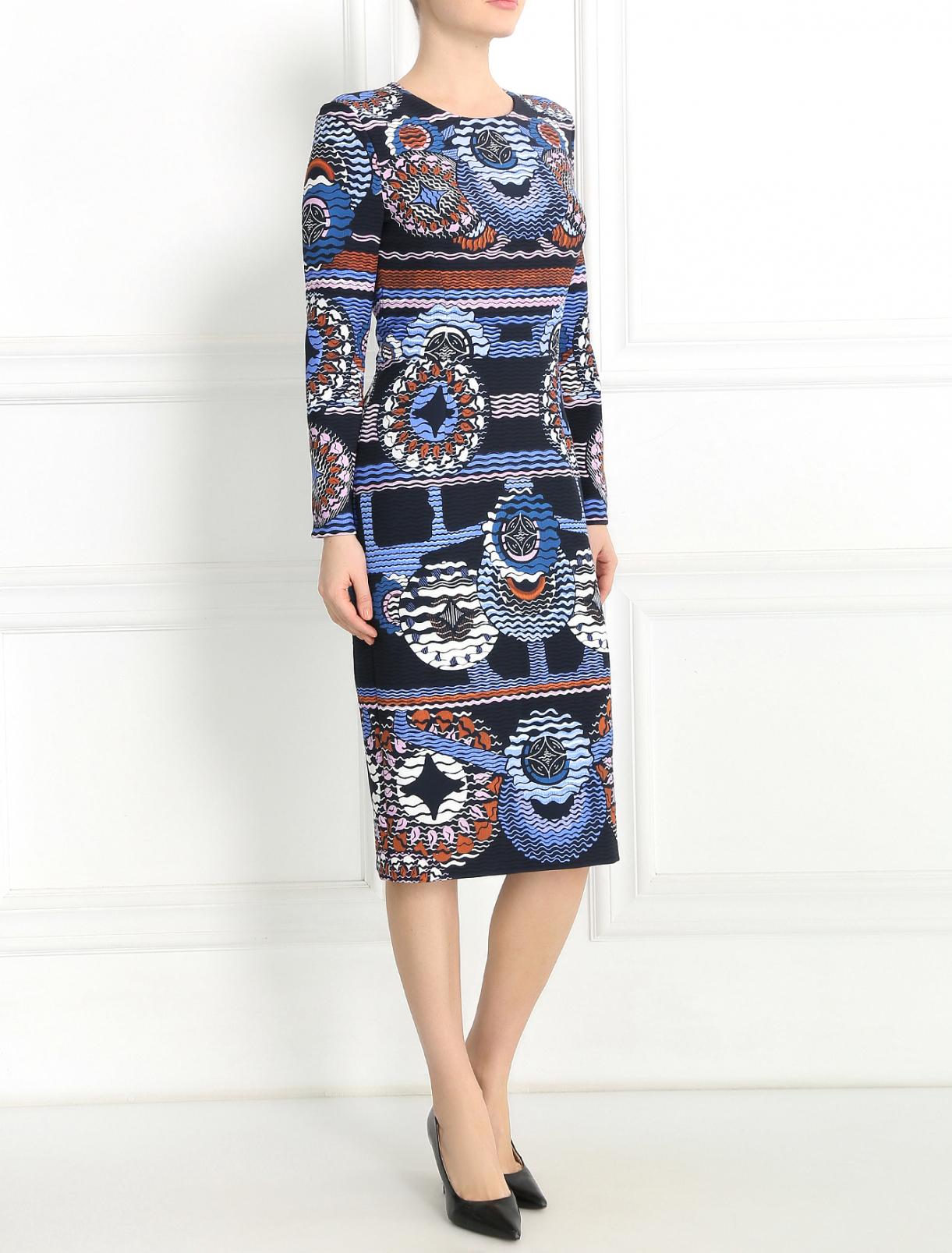Платье-футляр с узором Peter Pilotto  –  Модель Общий вид