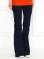 Хлопковые брюки-клеш J Brand  –  Модель Верх-Низ