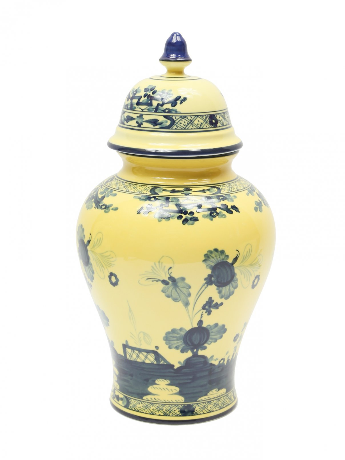 Форфоровая ваза с узором Richard Ginori 1735  –  Общий вид