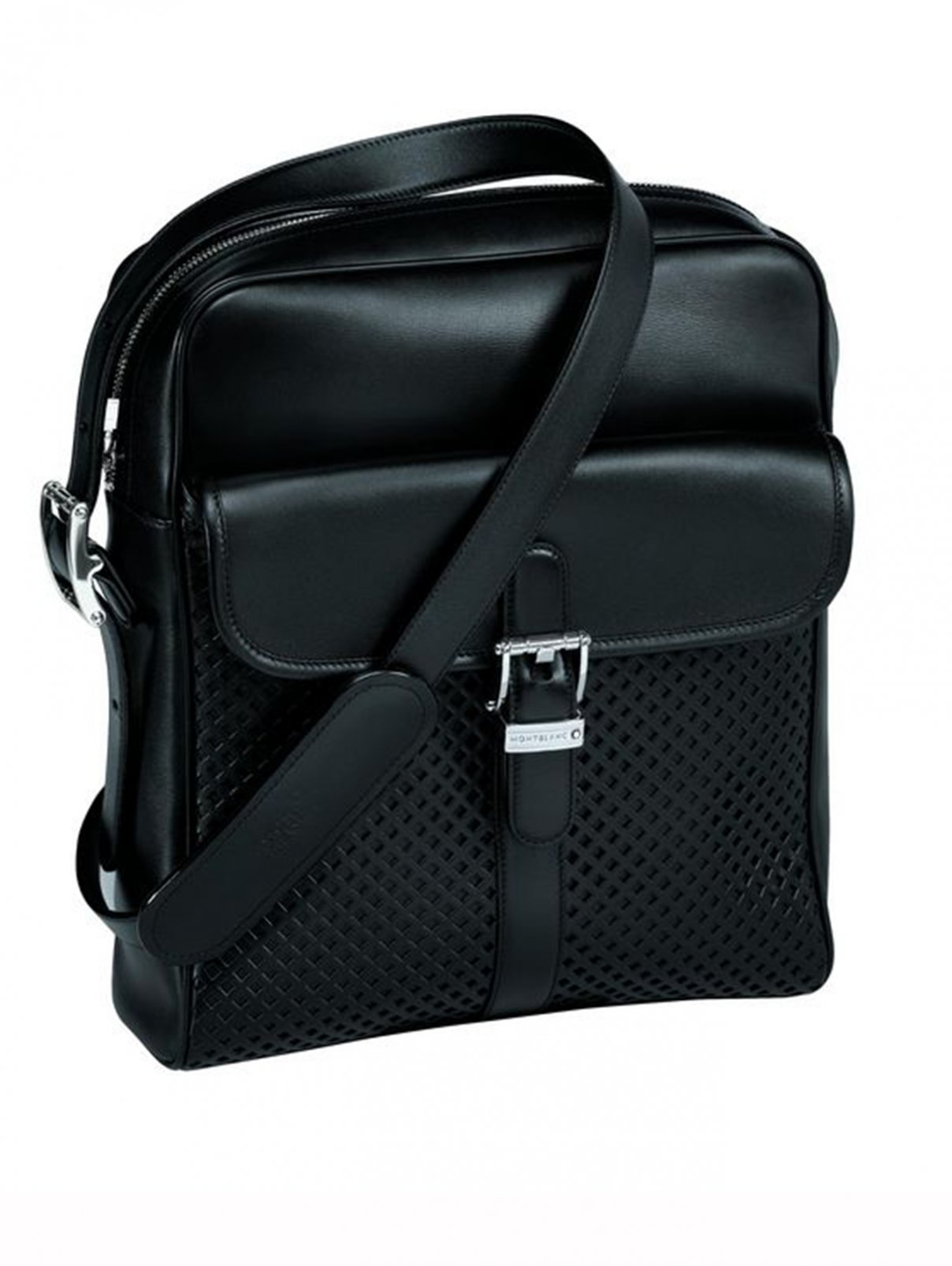 Мужская кожаная сумка Meisterstuck Soft Montblanc  –  Общий вид
