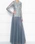 Платье-макси из кружева с декоративной аппликацией Antonio Marras  –  МодельОбщийВид