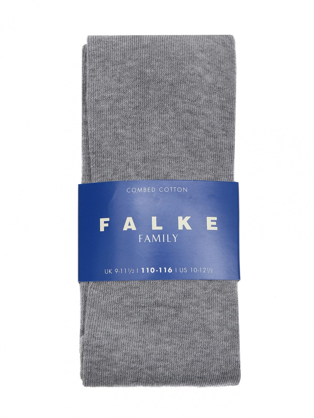 Колготки однотонные из хлопка Falke  –  Общий вид