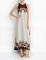 Платье-макси из шелка с узором Etro  –  Модель Общий вид
