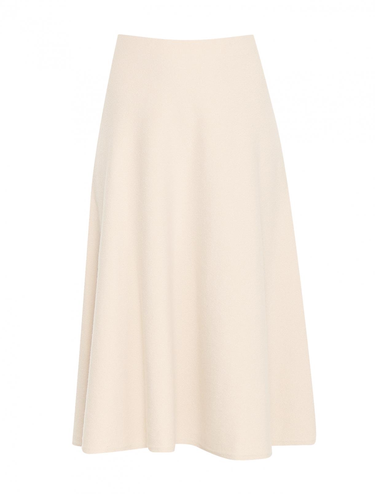 Трикотажная юбка-миди из шерсти Weekend Max Mara  –  Общий вид