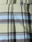 Удлиненные шорты из смессового хлопка в клетку Antonio Marras  –  Деталь