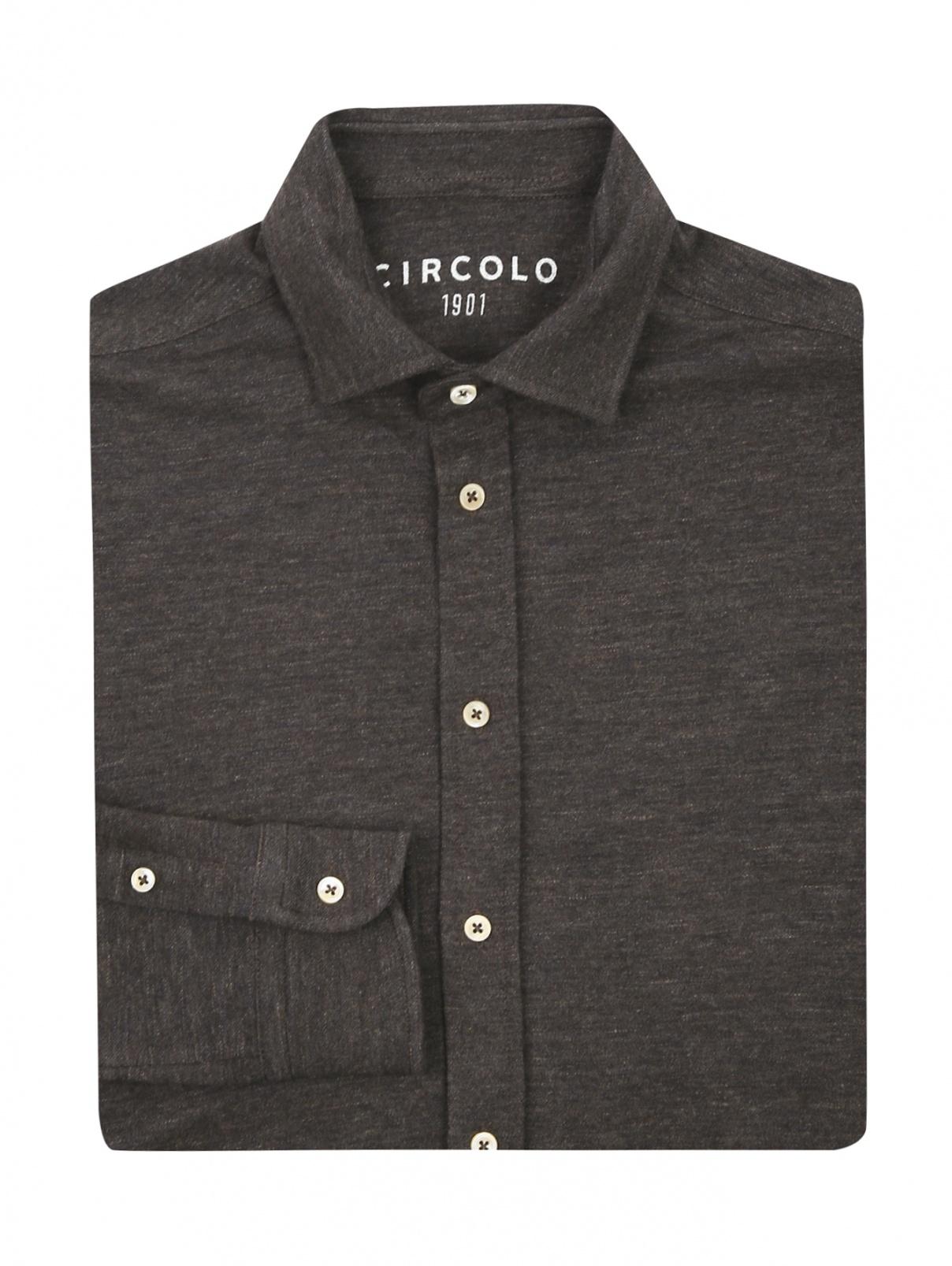 Рубашка из шерсти Circolo  –  Общий вид