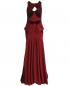 Платье-макси с велюровыми вставками Zac Posen  –  Общий вид