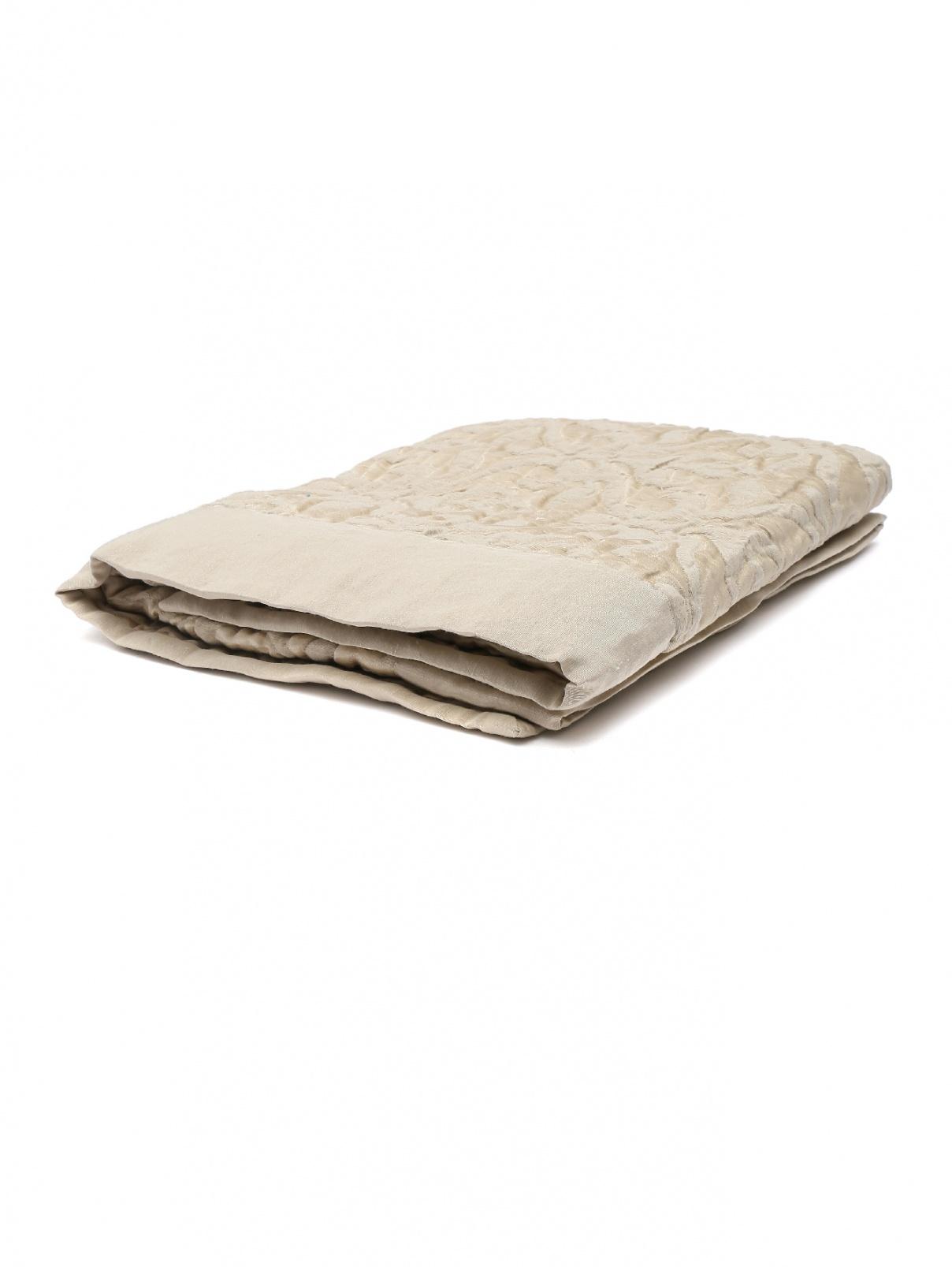 Наволочка стеганая из льна и шелка Frette  –  Общий вид