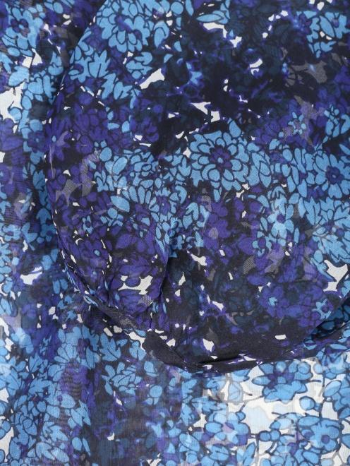 Блуза из шелка с цветочным узором Essentiel Antwerp - Деталь