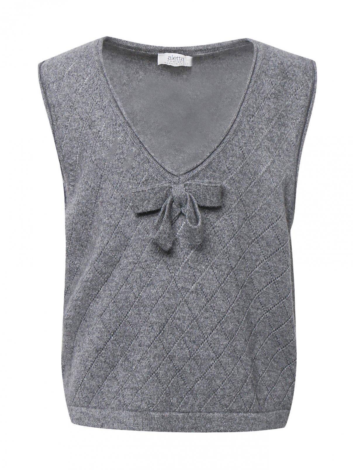 Жилет из смешанной шерсти Aletta Couture  –  Общий вид