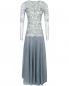 Платье-макси из кружева с декоративной аппликацией Antonio Marras  –  Общий вид