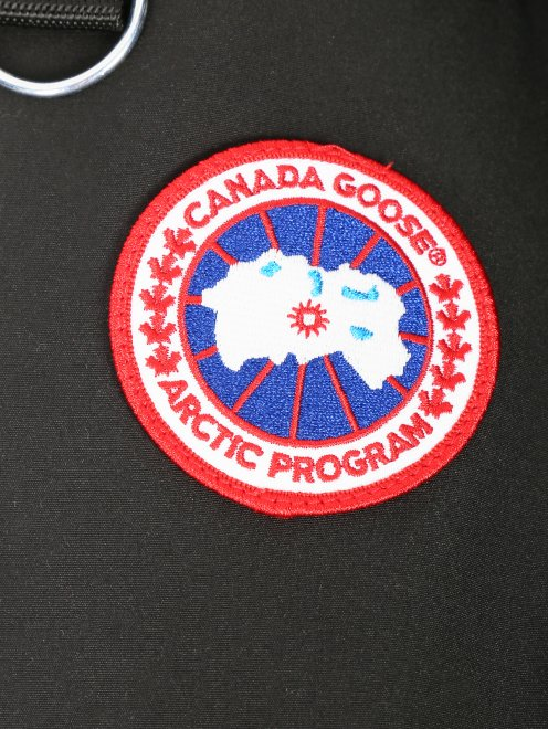 Брюки пуховые с контрастной вставкой Canada Goose - Деталь