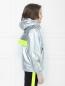 Куртка ветрозащитная из ткани с эффеком металлик Diesel  –  МодельВерхНиз2