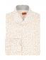 Рубашка из хлопка с узором Isaia  –  Общий вид