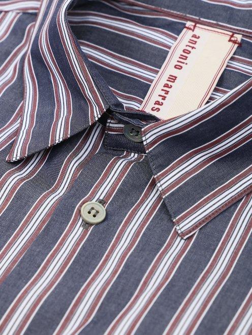 Рубашка из хлопка с коротким рукавом - Деталь