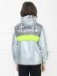 Куртка ветрозащитная из ткани с эффеком металлик Diesel  –  МодельВерхНиз1