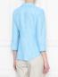 Блуза из льна в полоску Brooks Brothers  –  МодельВерхНиз1