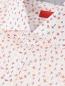 Рубашка из хлопка с узором Isaia  –  Деталь
