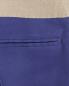 Укороченные брюки  из шелка с контрастным поясом Maurizio Pecoraro  –  Деталь