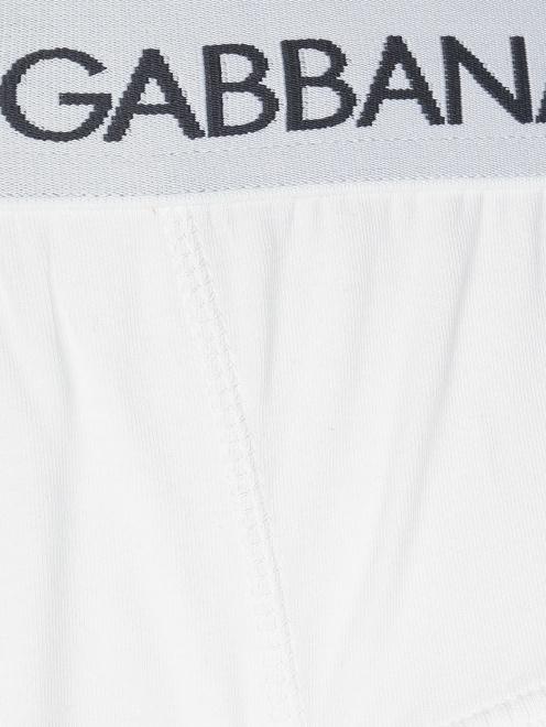 Трусы-брифы из хлопка Dolce & Gabbana - Деталь1