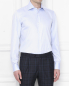 Рубашка из хлопка Borrelli  –  МодельВерхНиз