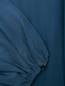 Платье-миди из шелка с поясом Rochas  –  Деталь