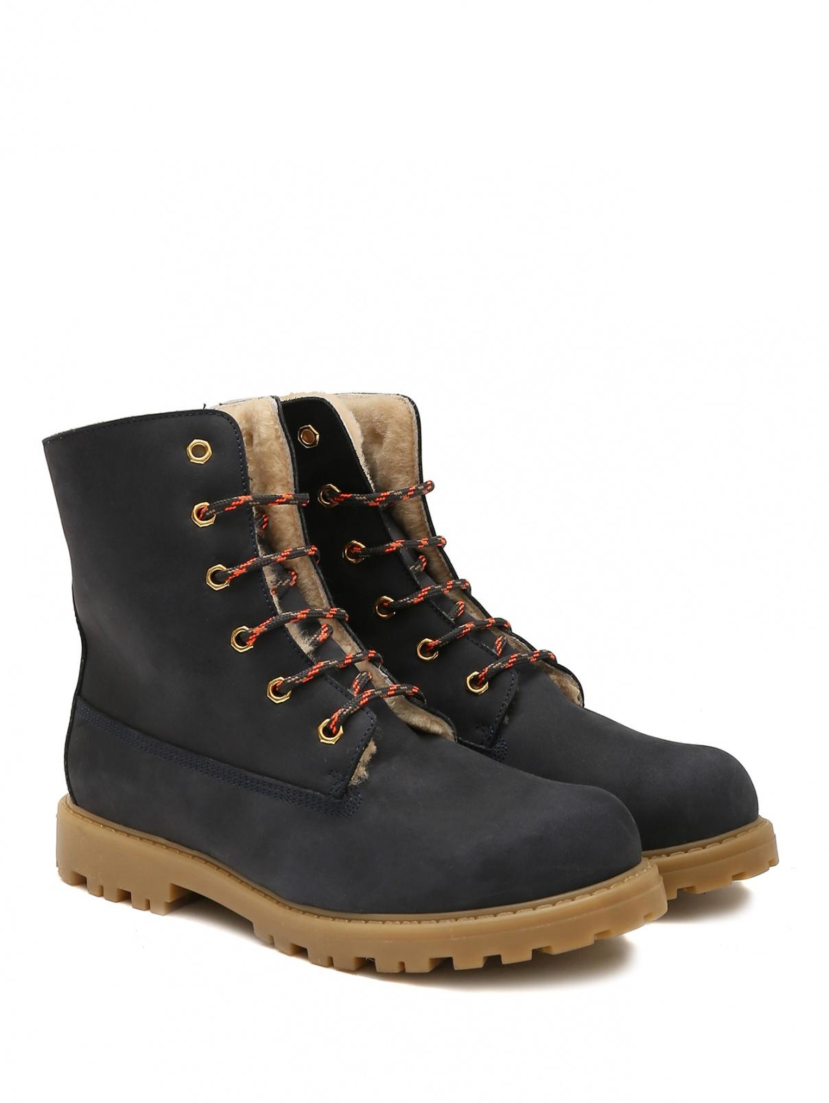 Утепленные замшевые ботинки Rondinella  –  Общий вид