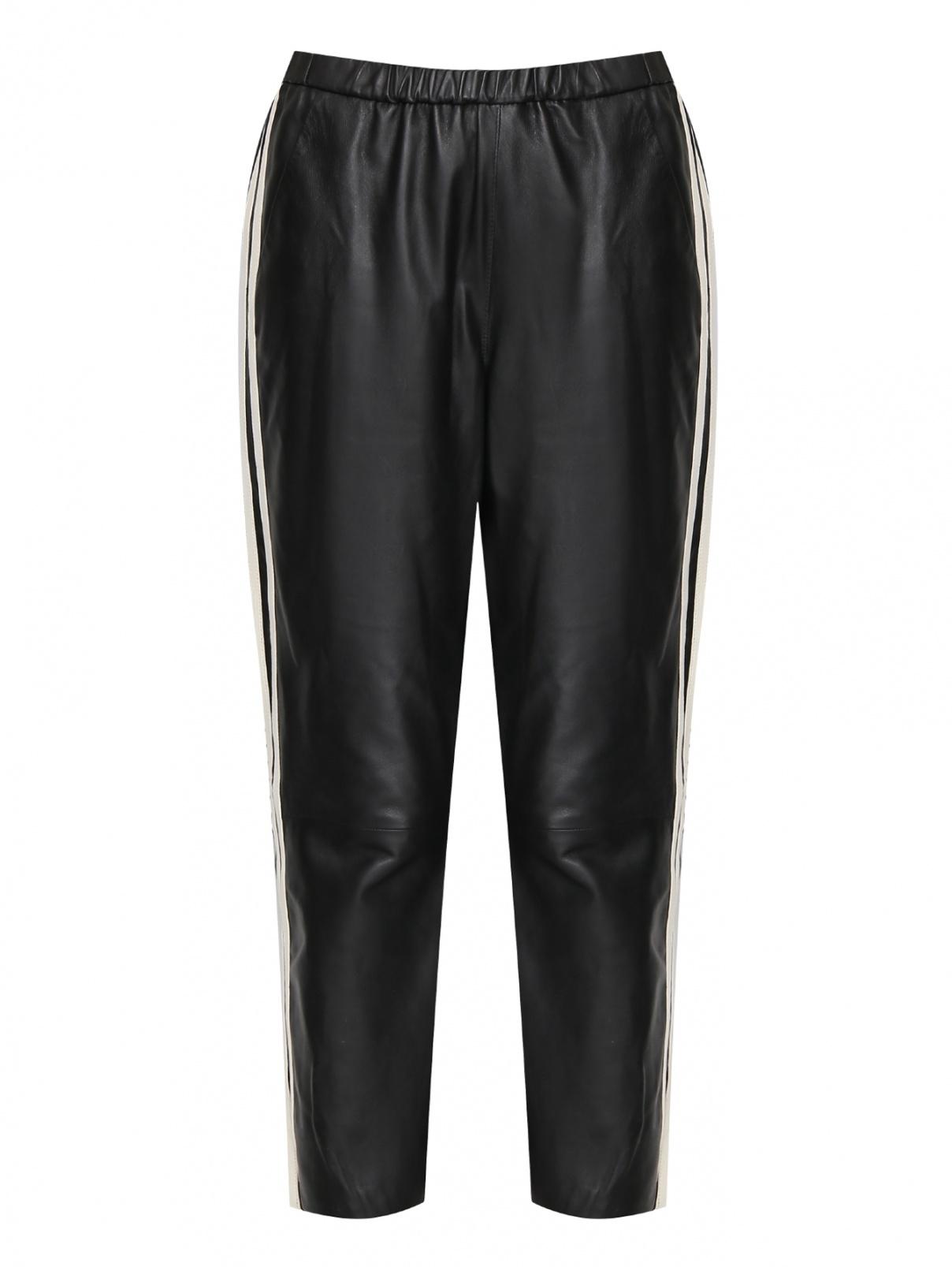Кожаные брюки с лампасами DROMe  –  Общий вид