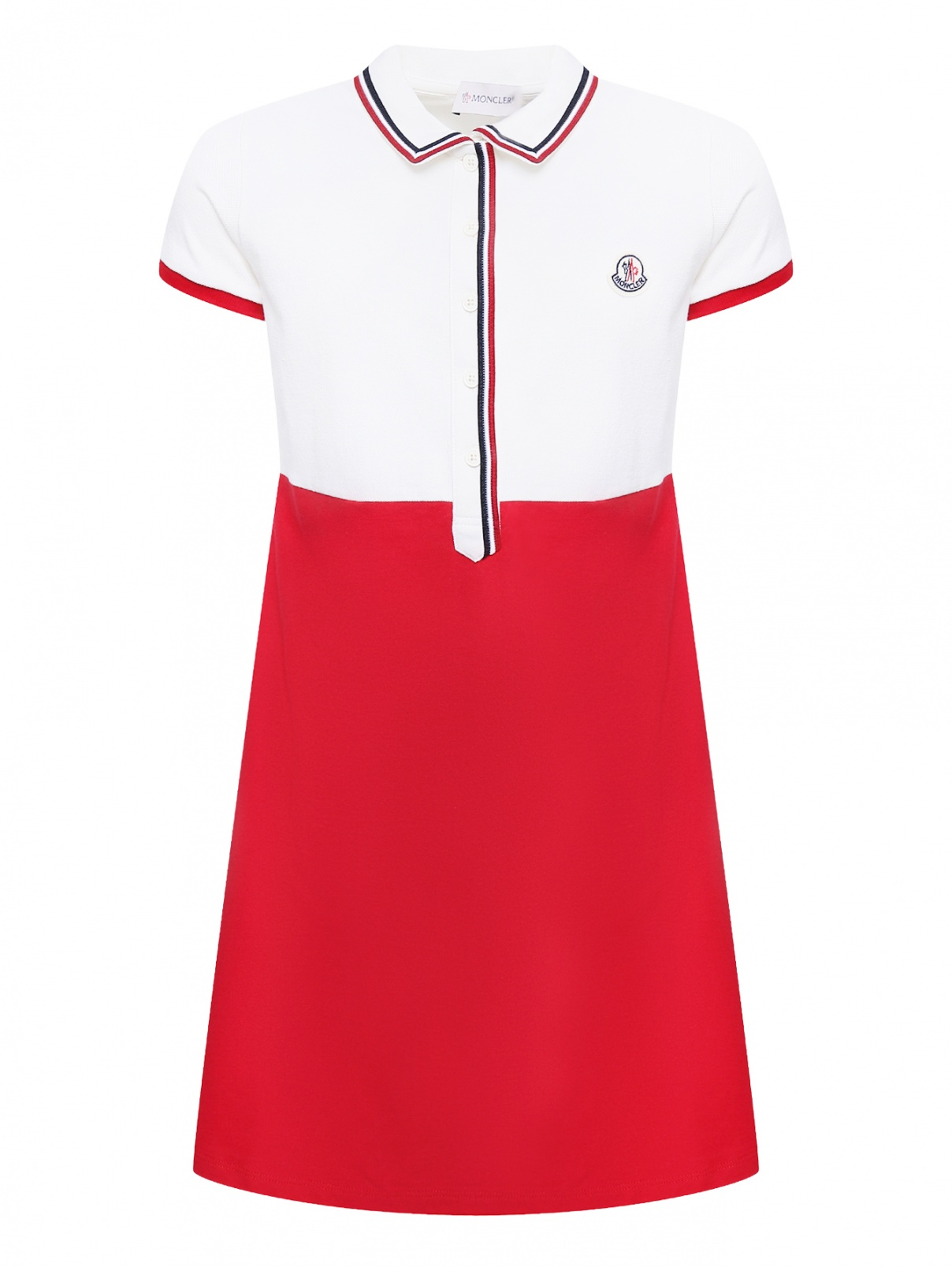Платье спортивное из хлопка Moncler  –  Общий вид