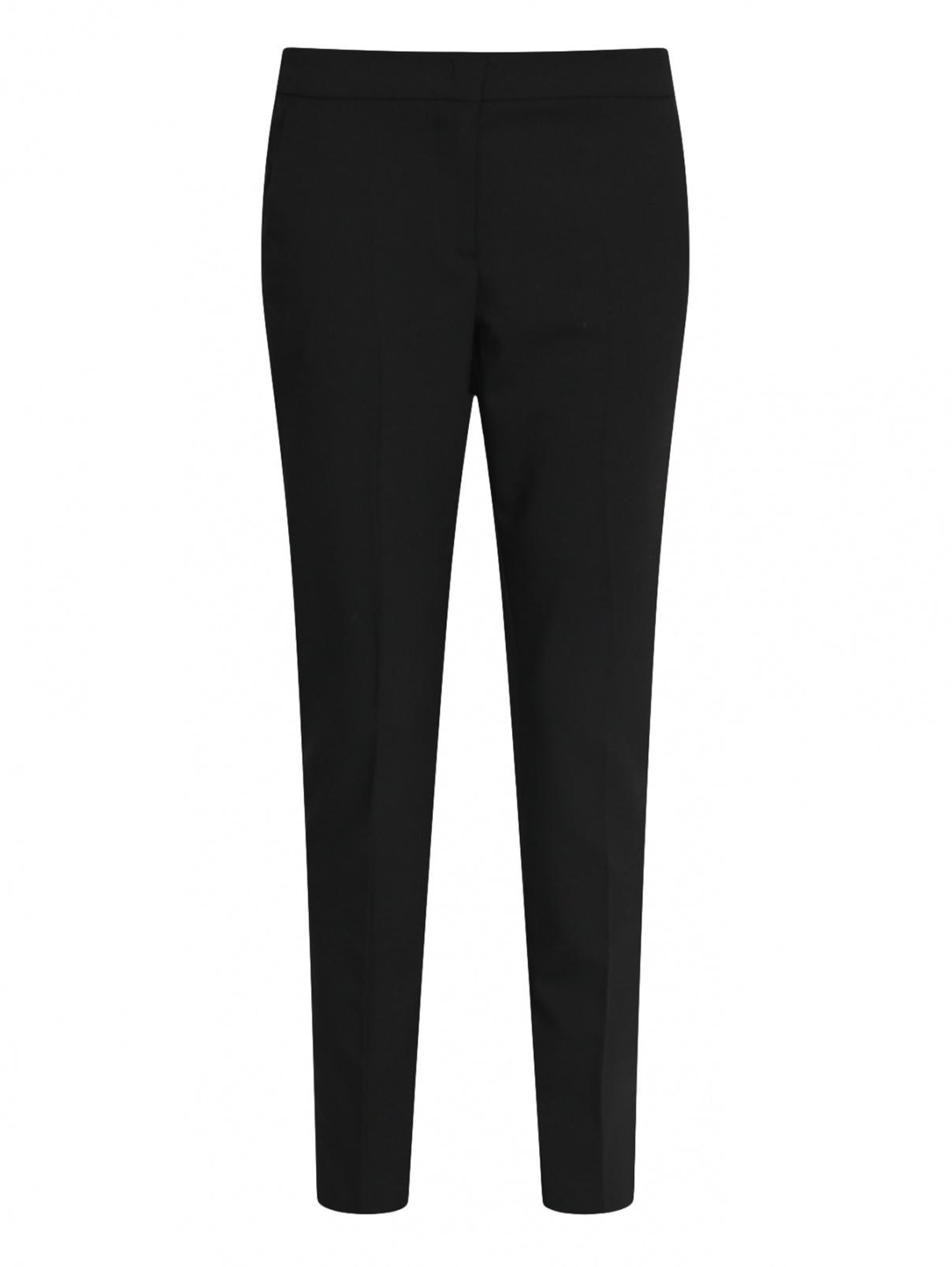 Укороченные брюки из шерсти с боковыми карманами Max&Co  –  Общий вид