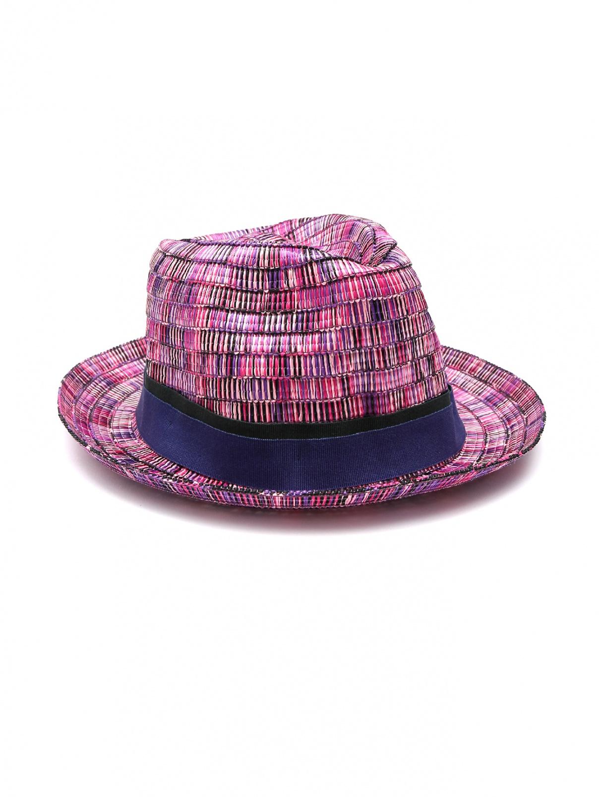 Шляпа плетеная из вискозы Paul Smith  –  Общий вид