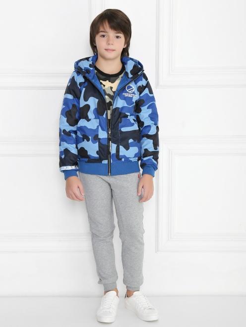 Куртка двухсторонняя с капюшоном - Общий вид
