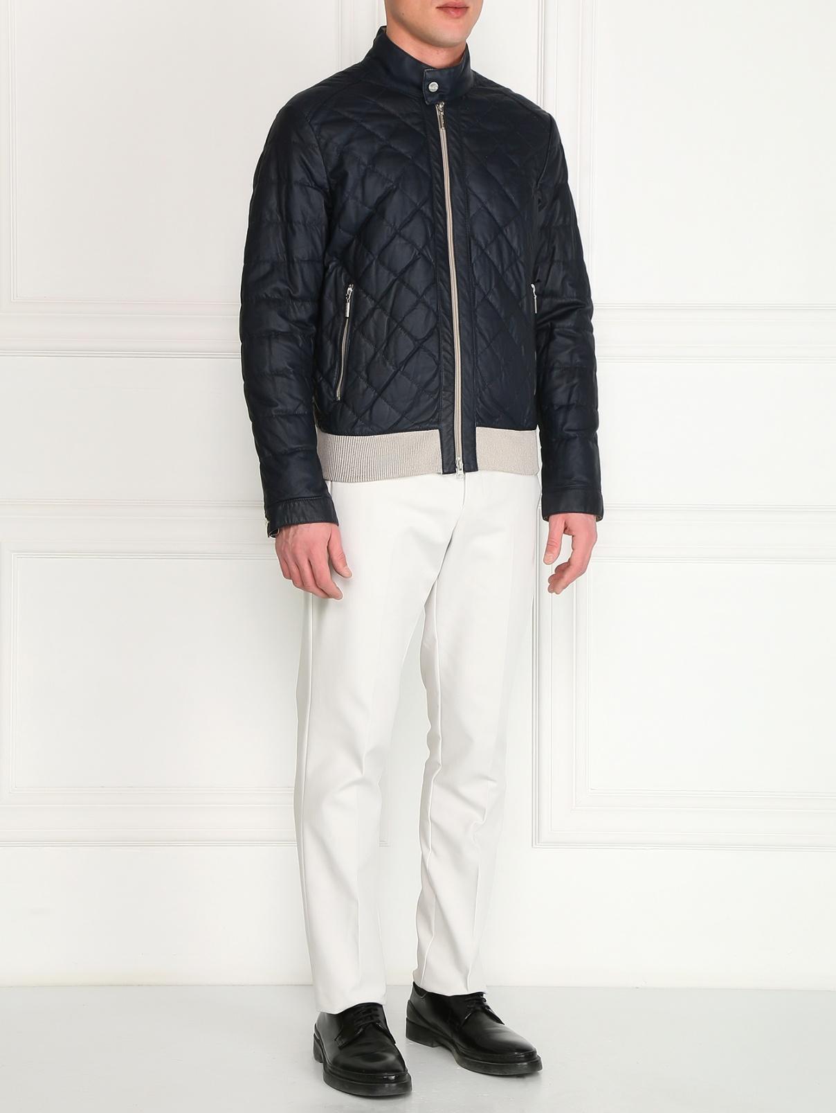 Куртка из кожи Fontanelli  –  Модель Общий вид