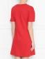 Платье хлопковое, с декоративной шнуровкой Love Moschino  –  МодельВерхНиз1