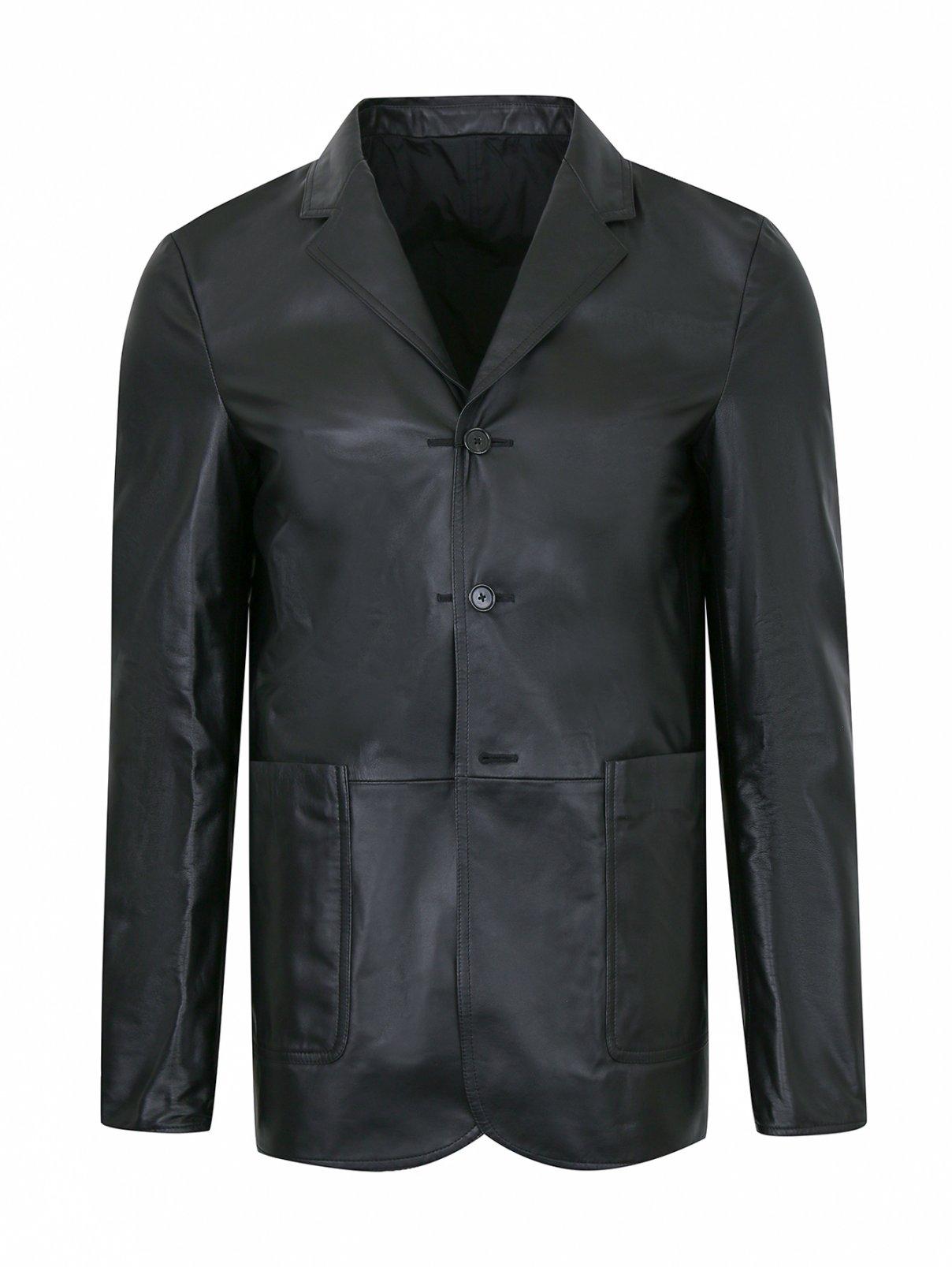 Пиджак из кожи Jil Sander  –  Общий вид