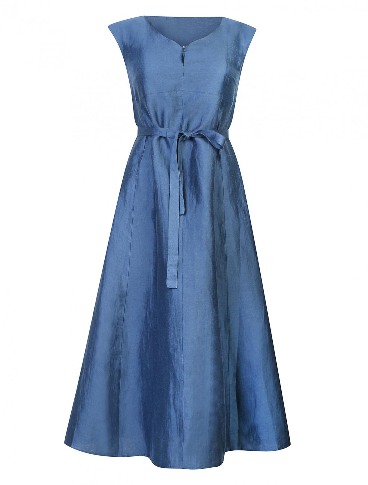 Платье из льна и шелка Weekend Max Mara  –  Общий вид