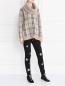 Джемпер из шерсти с шарфом Max Mara  –  Модель Общий вид