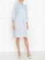 Платье-рубашка из шелка Maison Martin Margiela  –  Модель Общий вид