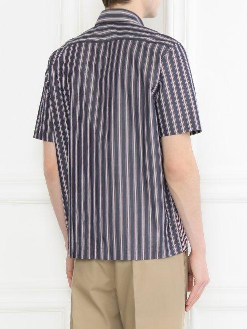 Рубашка из хлопка с коротким рукавом - МодельВерхНиз1
