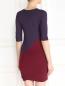 Платье прямого кроя с контрастными вставками Max Mara  –  Модель Верх-Низ1