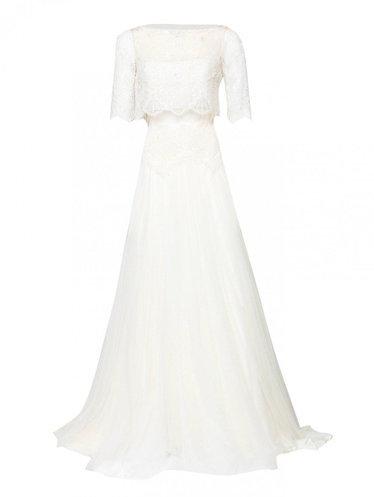 Платье из сетки с вышивкой Rosa Clara  –  Общий вид