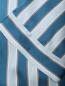 Шелковый халат в полоску на поясе Frette  –  Деталь1