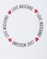 Рубашка из хлопка с принтом Love Moschino  –  Деталь